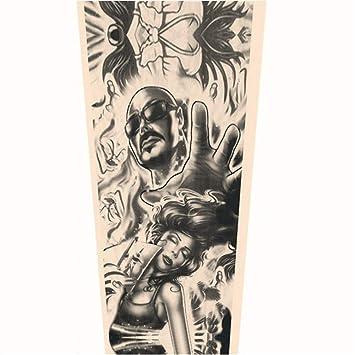 JinRui-Sport Mangas tatuadasManga del Brazo del Tatuaje Protector ...