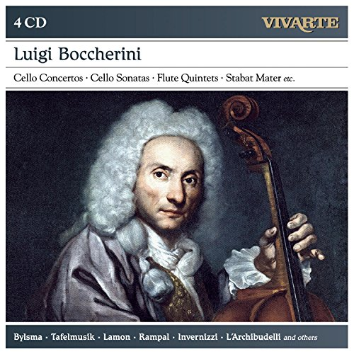 Luigi Boccherini: Cello Concertos; C Ello Sonatas; Flute Quintets; S