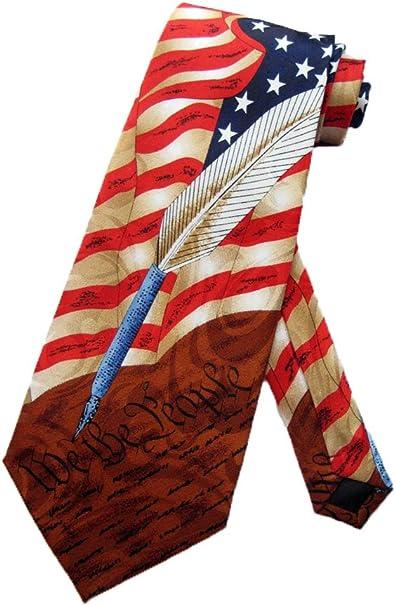 Steven Harris Hombres US konstitution Americanas corbata – Color ...