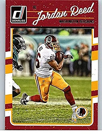 Amazon.com  2016 Donruss  294 Jordan Reed Washington Redskins ... eba1bc530