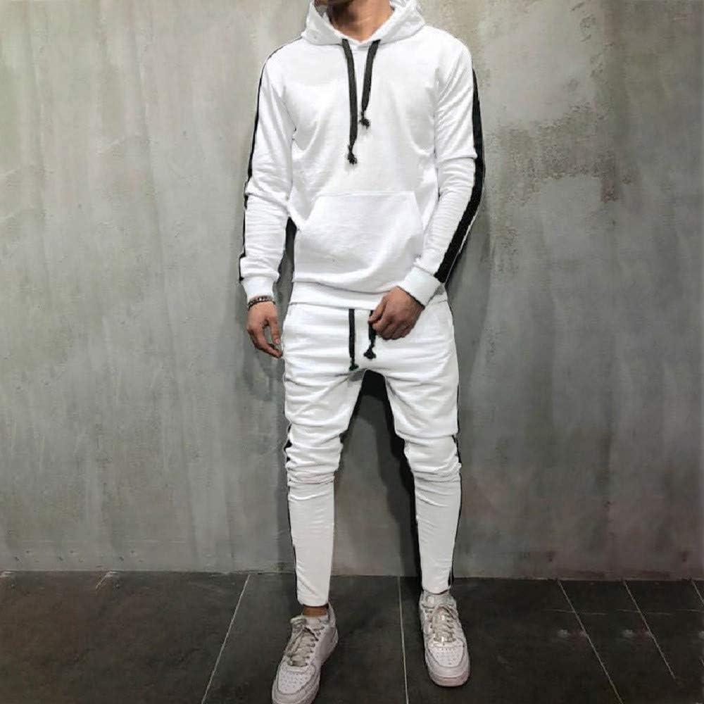 Ensembles De Pantalons Haut Surv/êTement Sets Sweatshirt A Capuche Homme Automne Hiver Poche Camouflage Surv/êTement Sport Suit