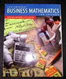 Contemporary Business Mathematics for Colleges, Brief Course, Deitz, James E., 053886883X