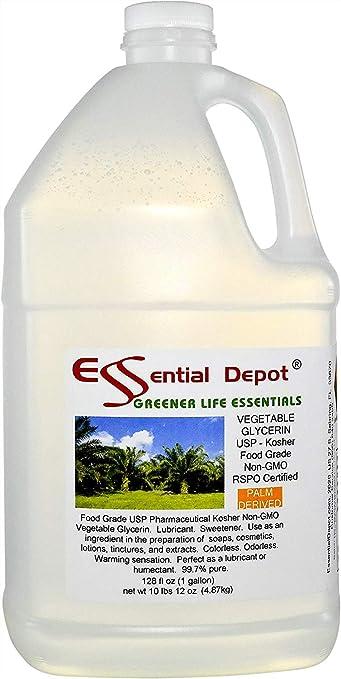 0ddcfdf56 Amazon.com: Glycerin Vegetable - 1 Gallon (10.75 lbs or 172oz net wt ...