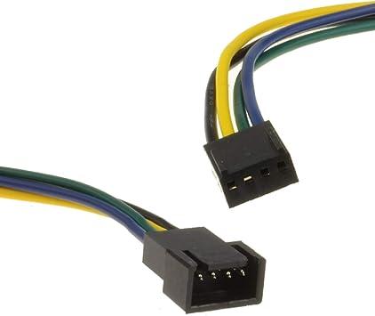 Pwm Ventilador Extensión Cable 4 Pines Masculino Clavija A ...