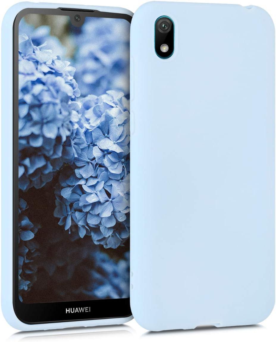 Protector Trasero en petr/óleo Mate 2019 - Carcasa de TPU Silicona kwmobile Funda Compatible con Huawei Y5
