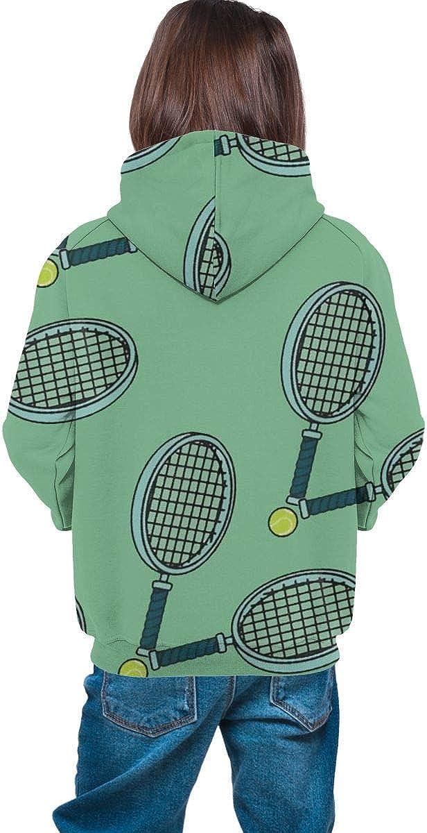 ONGH Raqueta de Tenis (2) Chaqueta con Capucha de vellón con ...