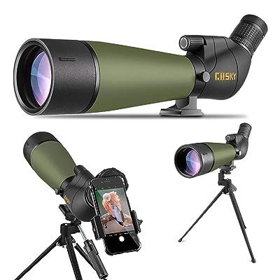 Gosky 2019 Updated 20-60x80 Spotting Scope