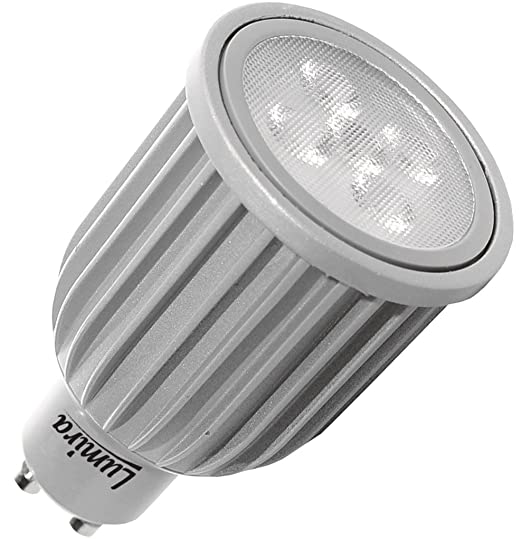 Lumira – Bombilla LED GU10 6 W 5 SMD Foco Lámpara 440 lúmenes blanco cálido