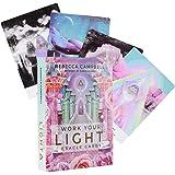 Per Newly A 44-Card Deck – Work Your Light Oracle Cards – Classic Tarot Card Deck Juego de cartas