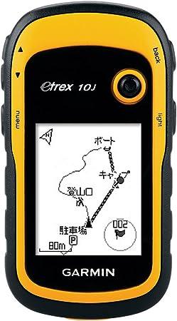 """Garmin eTrex10J De mano 2.2"""" 148g Negro, Amarillo navegador - Navegador GPS  (5,59 cm (2.2""""), 128 x 160 Pixeles, 43,2 x 35,6 mm (1.7 x 1.4""""), Flash, De  mano, Negro, Amarillo): Amazon.es: Electrónica"""