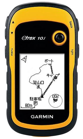 0384f13a7f Amazon   GARMIN(ガーミン) 登山用 ハンディ GPS eTrex 10J 【日本正規品 ...