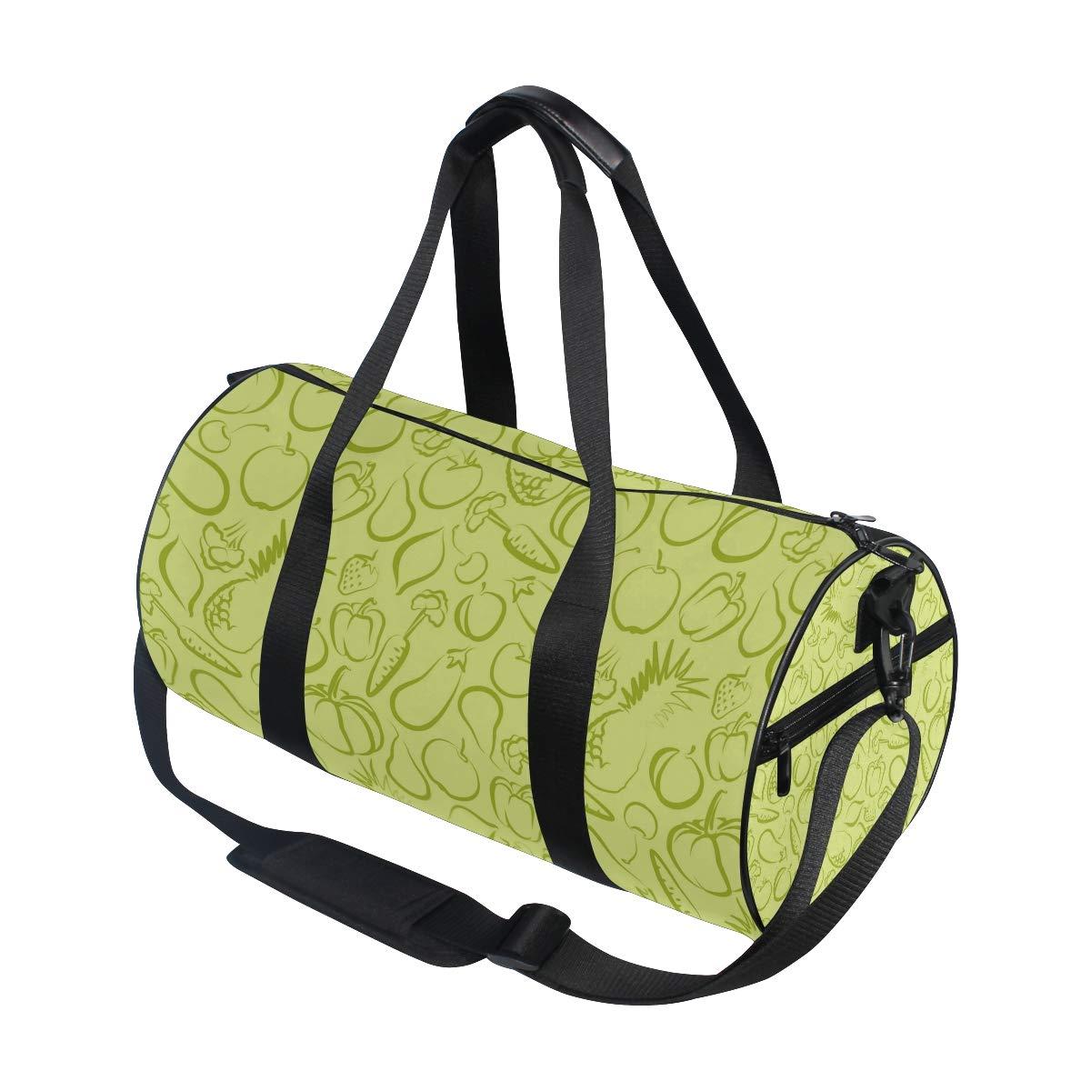 Waterproof Non-Slip Wearable Crossbody Bag fitness bag Shoulder Bag Vegetable Doll Picture