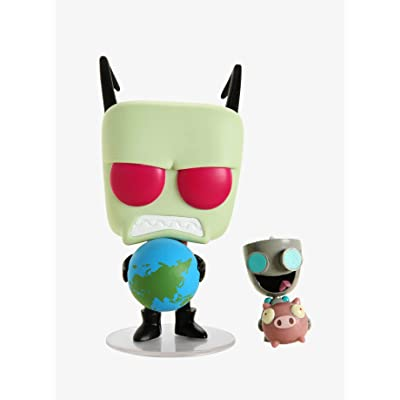 Funko POP! Television: Invader Zim - Zim & Gir #920 - Exclusive: Toys & Games