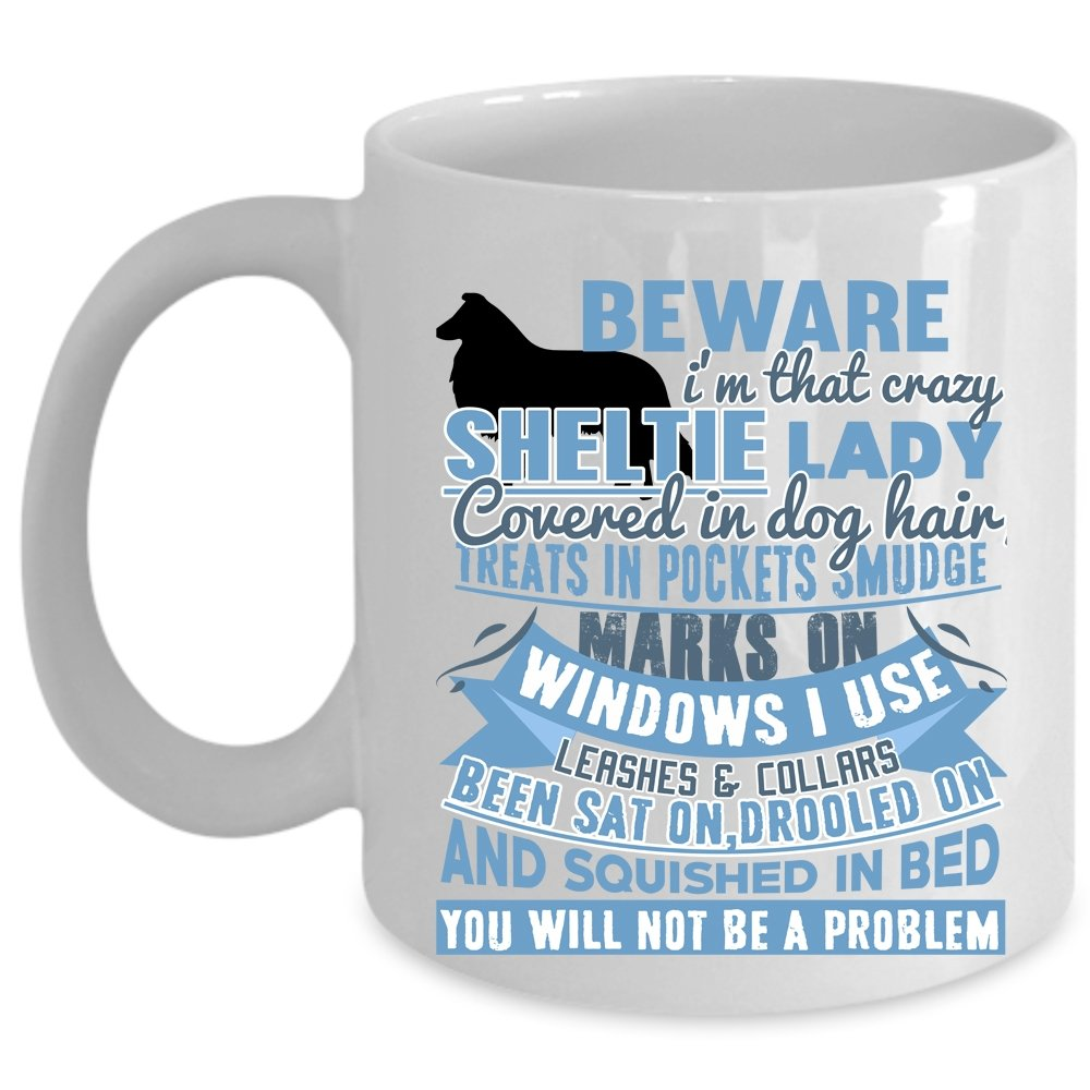 Amazon com | Cute Dog Lover Coffee Mug, I'm That Crazy