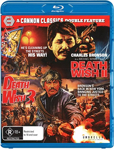 Death Wish 2 / Death Wish 3 [Blu-ray]