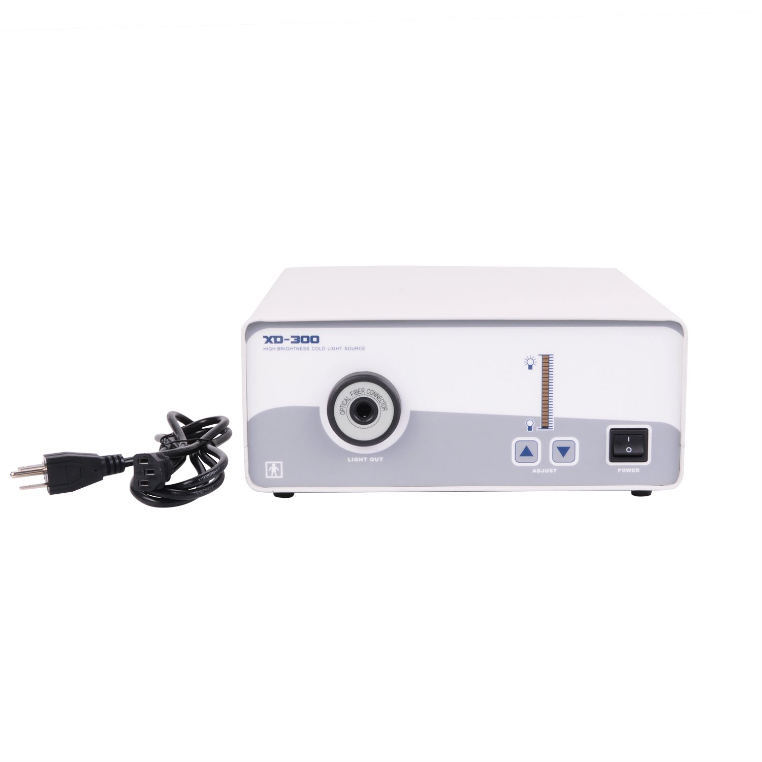 Wotefusi Lab Medical Surgical Dental Power Supply Brand New XD-300-250W Single Xenon Cold Light Source 110V