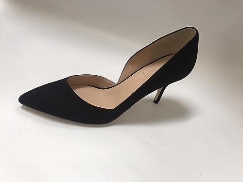 144dcc572c4 J Crew Colette D Orsay Suede Pumps Size 7 E0795 Black Heels Shoes (Black
