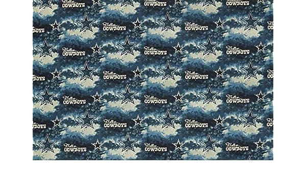 Amazon.com  Dallas Cowboys Football Teal Sheeting Fabric Cotton 5 Oz 58-60