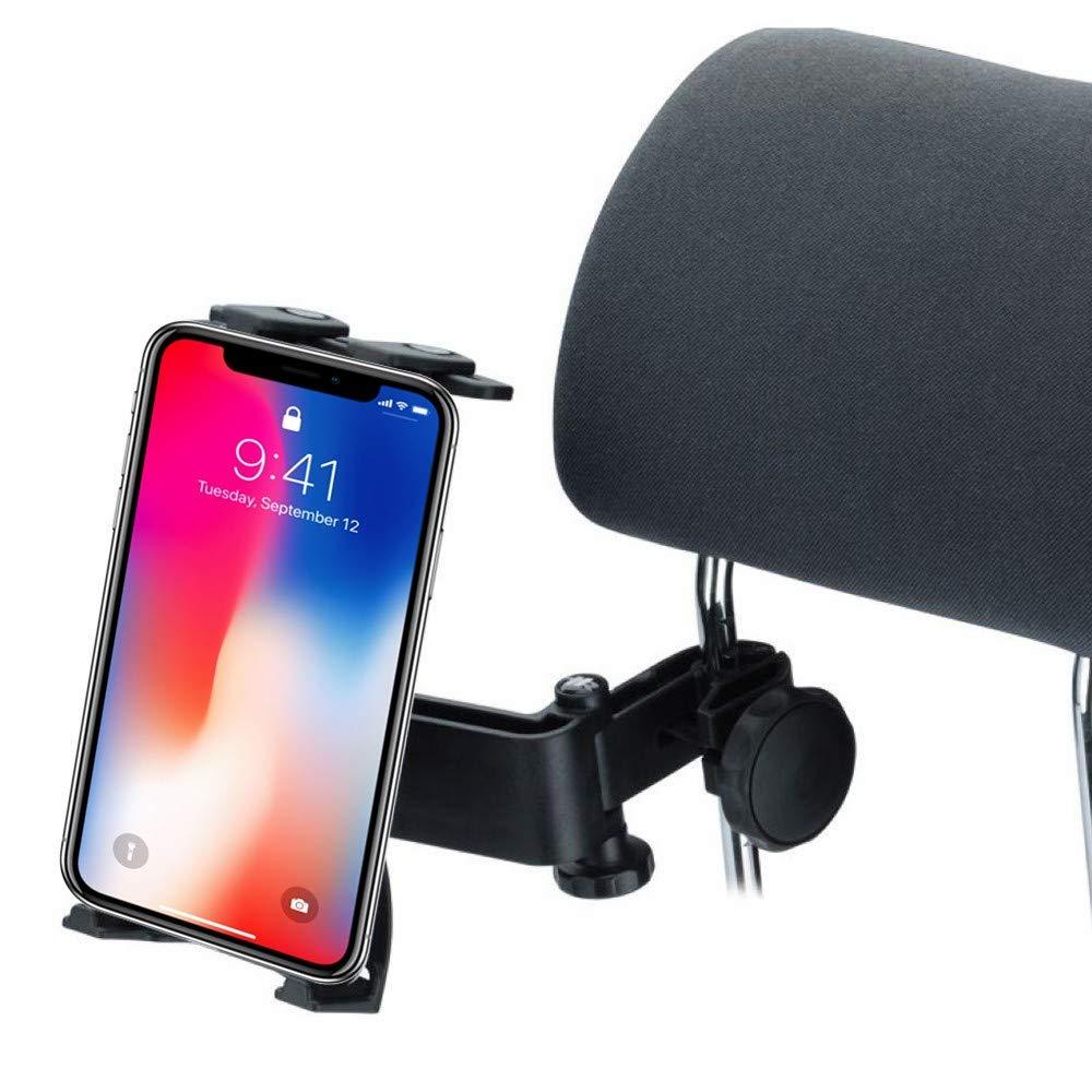 oldeagle Car Mount Holder for iPad 1/2/3/4, IPad Air, Samsung Galaxy Tab 10.1, Colorfly i106 Q1, Google Nexus 10, 360 Degree Rotatable Adjustable Car Seat Headrest Mount Holder Black