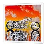 3dRose HT_4489_2 Iron on Heat Transfer Picturing Harley-Davidson#174 Motorcycle