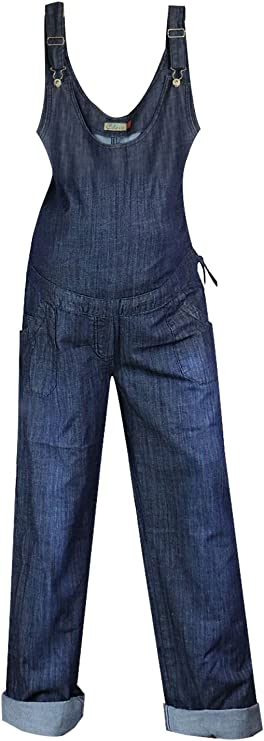 Clove Ladies Maternity Dungarees Blue Denim Long And Tall Drawstring Plus Size 14 24 Stalliontiling Com Au