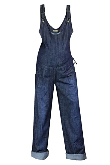 17630a51d2b76 Clove Ladies Maternity Dungarees Blue Denim Long and Tall Drawstring Plus Size  14-24: Amazon.co.uk: Clothing