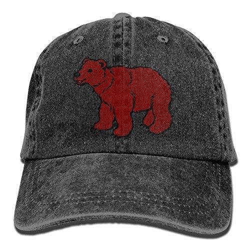Hainingshihongyu Australian Kangaroo Flag Baseball Caps Adult Sport Cowboy Trucker Hats Adjustable Black - Wa Mall Vancouver