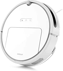 Roborock E20 Robot Vacuum Cleaner 1800Pa Strong Suction for Carpet and All Floor Types, App Control, Route Planning on Hard Floor Cleaning Dust and Pet Hair for Homes with Pets (White)
