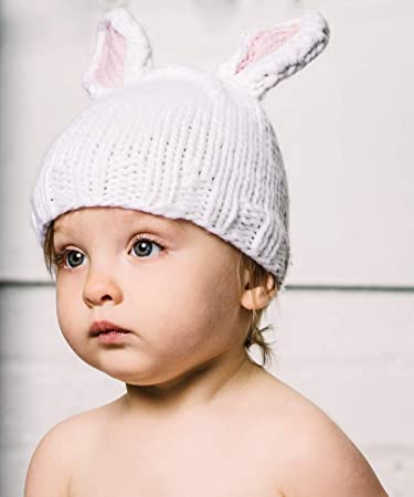 445210857ecb7 Image Unavailable. Image not available for. Color  The Blueberry Hill   quot Bailey quot  Knitted Bunny Hat ...