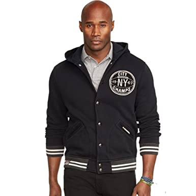 Polo Ralph Lauren Mens' Baseball Jacket (Medium) at Amazon Men's ...