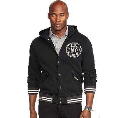 Polo Ralph Lauren Mens' Baseball Jacket (Medium) at Amazon Men's ...