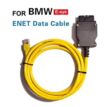 Enet 2 m Ethernet to OBD interface cable, E-SYS ICOM Coding all F-Series