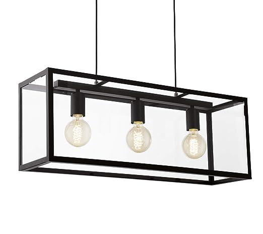 EGLO - 49393 - Lámpara de techo (bombilla interior), color ...
