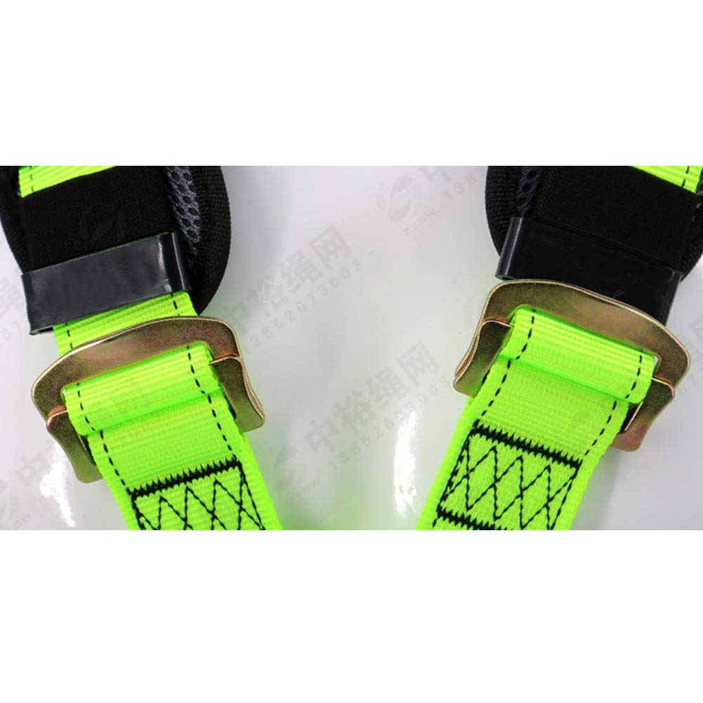 Safety Fall Protection Harness high Altitude Anti-Falling Sling Outdoor Expansion Climbing Rock Climbing Polyester Belt by HENRYY (Image #4)