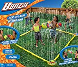 Bop Splash Summer Fun 7' Square Water-sprinkling Boxing Ring with Inflatable Gloves, For Ages 3 to 12 years