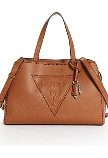 06de1aa885d Amazon.com  Guess Women s Baldwinpark Satchel Tote Bag Handbag ...