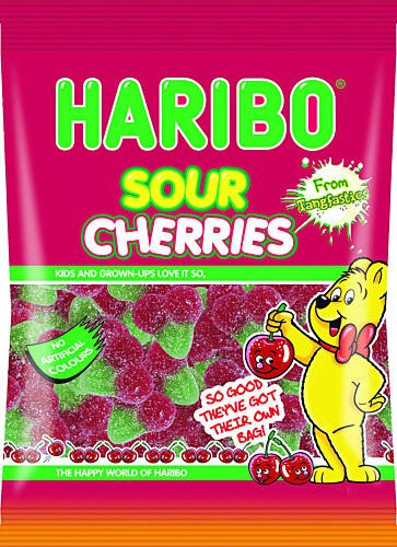 Haribo Sour Cherries 160g x3