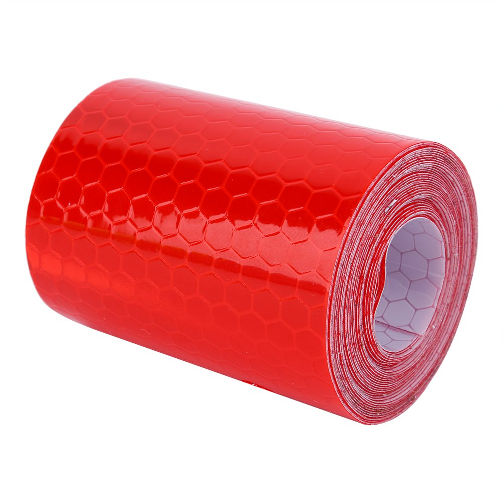 Eboxer Red Reflective Safe Warning Tape, 5cm x 300cm