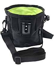 Pet Dog Food Snack Bag Walking Training Outdoor Pack Dog Treat Training Pouch Pet Supplies Black