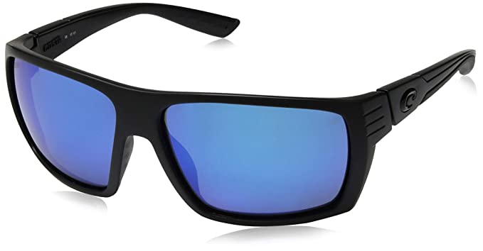 ca11a81299 New Costa Del Mar Hamlin HL 01 Blackout Sunglasses for Mens - Size 580G (Blue  Mirror Lens)  Amazon.co.uk  Clothing