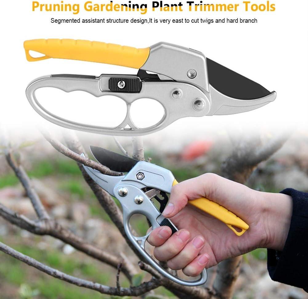 Pruning Shears High Carbon Steel Gardening Plant Branch Pruner Trimmer Tools Pruning Shears Garden Shears