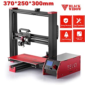 tevo Black Widow i3 3d impresora DIY Kit Marco de Aluminio grandes ...