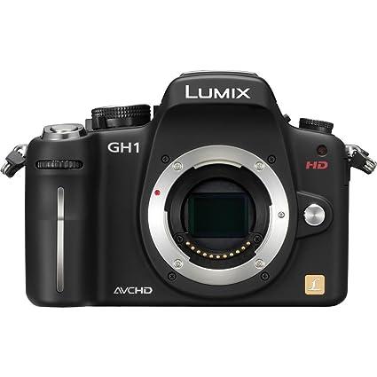 amazon com panasonic panasonic lumix dmc gh1k body 12 1 megapixel rh amazon com Panasonic DMC GH1 Lumix GH1