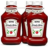 Heinz Triple Pack Simply Tomato Ketchup, 132 Ounce