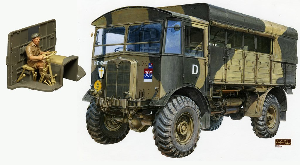 Unbekannt AFV Club AFV35239 - 1/35 AEC Matador Middle Type, Modellbausatz