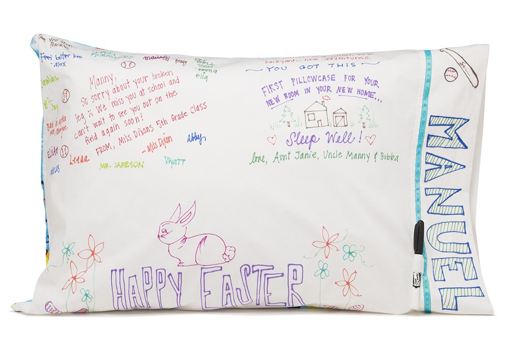 Slumber Party Supplies - Owl Pillowcase - Personalize your LET YOUR LIGHT SHINE pillowcase - Fun gifts for kids and teens- Super cute pillowcase - Christian gifts for kids by Flipside Pillow (Image #8)