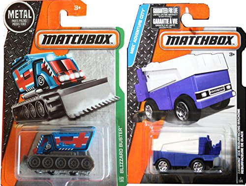 Zamboni Matchbox Ice Set MBX Explorers Matchbox Blizzard for sale  Delivered anywhere in USA