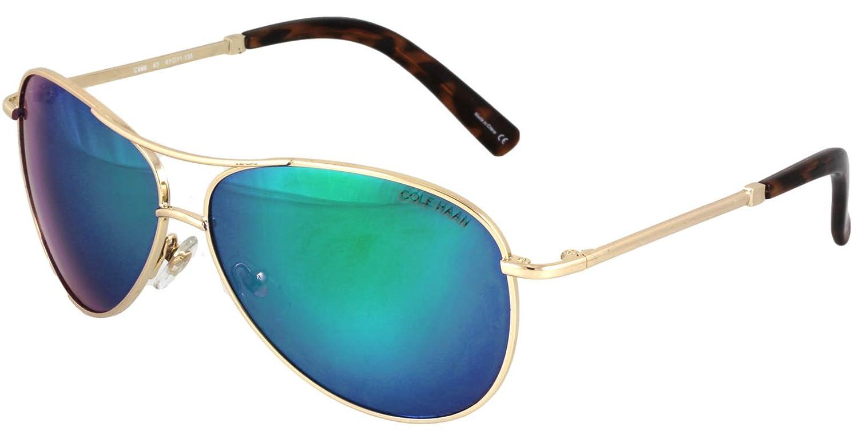 3c99d933cb Cole Haan Unisex C 669 Distressed Gold 1 Sunglasses at Amazon Men s  Clothing store