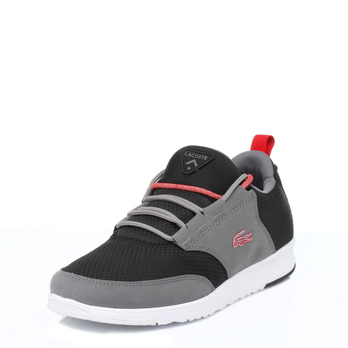 849b83061f4a4 Lacoste Mens Light 01 Fitness Low Top Active Running Athletic Trainers UK  7-12  Amazon.co.uk  Shoes   Bags