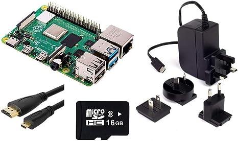 Raspberry Pi 4 Model B 4GB Kit: Amazon.es: Electrónica